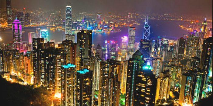 Hong Kong Victoria Peak Night View