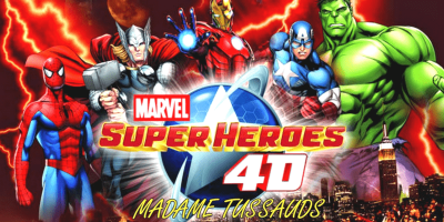 Madame Tussauds Marvel 4D Experience 800x400