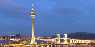 Macao Tower Cafe 360 by Night 800x400
