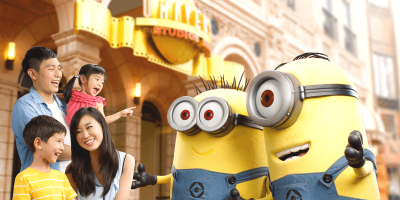 Singapore Universal Studios Family Fun with minions 800x400