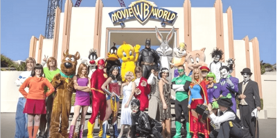 Australia Gold Coast Movie World All Star and Super Heroes 800x400