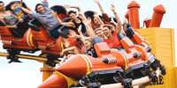 Australia Gold Coast Movie World Road Runner Rollercoaster 800×400