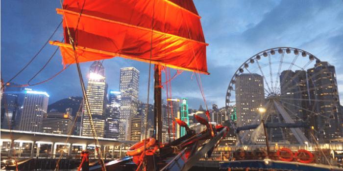 Hong Kong AquaLuna Harbor Evening Sails 800×400