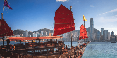 Hong Kong AquaLuna Harbor Sails 800x400