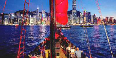 Hong Kong Aqualuna Late Evening Sails 800x400