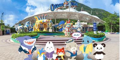 Hong Kong Ocean Park Mascots 800x400