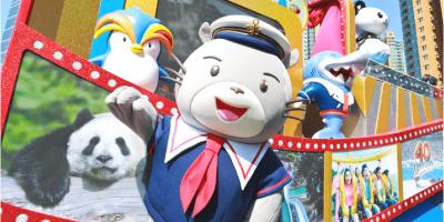 Hong Kong Ocean Parks Mascot Whiskers 800x400
