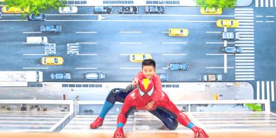Korea Busan 3D Trick Eye Museum Spiderman Ride 800x400