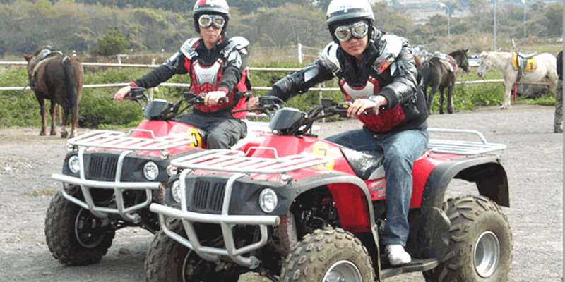 Korea] Jeju Island Land ATV Ride Experience - Triba East