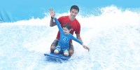 Singapore Sentosa Wave House Kids Fun 800×400