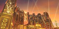 Macao Studio City by Night 800×400