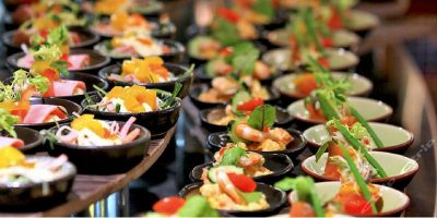 Sands Macao 888 Gourmet Place Lunch Buffet line 800x400