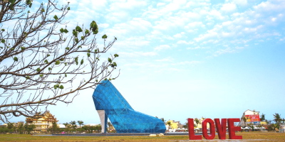 Taiwan Chiayi High Heel Shaped Church 800x400