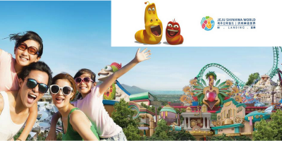 Korea Jeju Island Shinhwa World Theme Park Family Fun 800x400