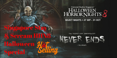 Singapore Stay & Scream HHN8 Halloween Special 3D2N 800x400