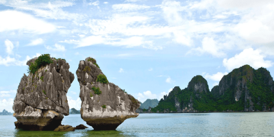 Vietnam Halong Bay Fighting Cock Rock 800x400