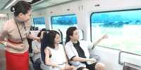 Korea AREX Incheon Airport Express Train Cabin View 800×400
